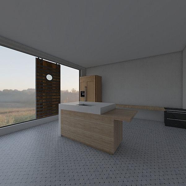 Oliver Davies workshop Interior Design Render