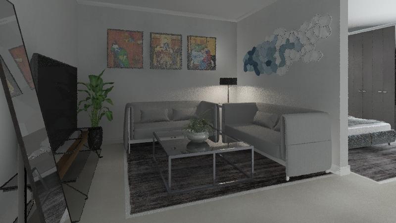 المشروع ٢ Interior Design Render