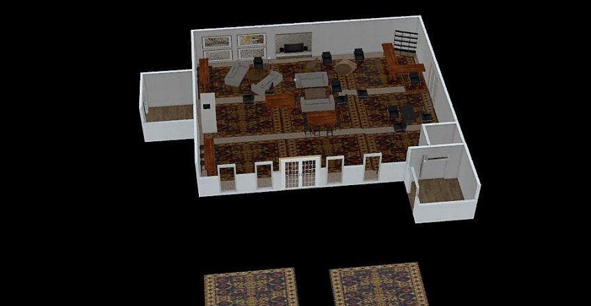 Clubhouse v. 7 Interior Design Render