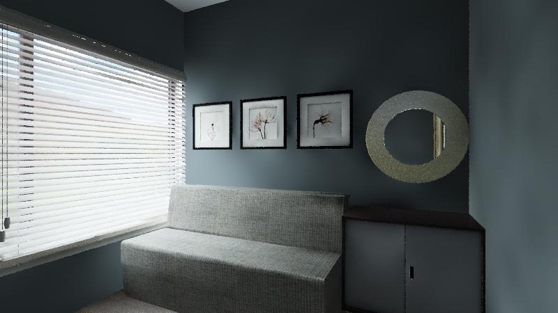 Soledad cuarto secundario Interior Design Render