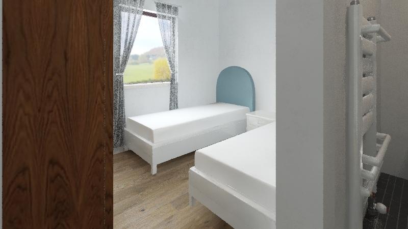 Appartment B Interior Design Render
