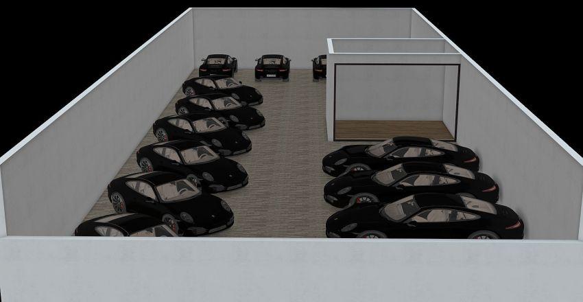 shopping showroom Interior Design Render