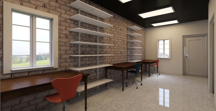 Uplove Bridal And More Shop Interior Design Render