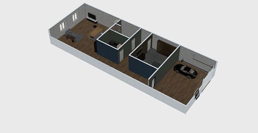 Building Interior Design Render