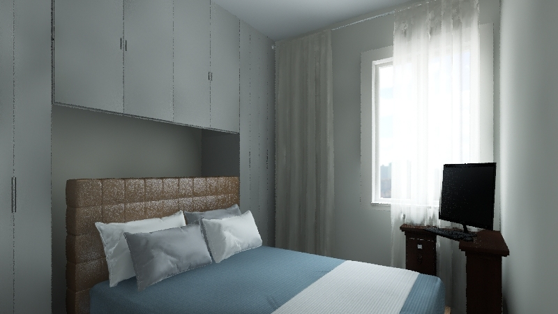Quarto Interior Design Render