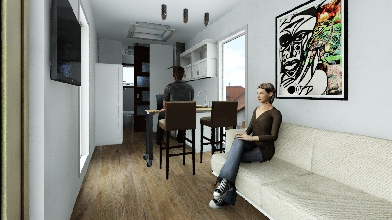 DraxHall Village Interior Design Render