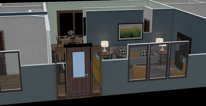 Judy's House Interior Design Render