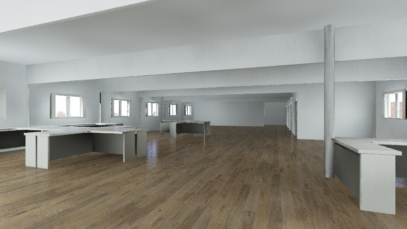 Auseco 12 x 3 OFI Interior Design Render