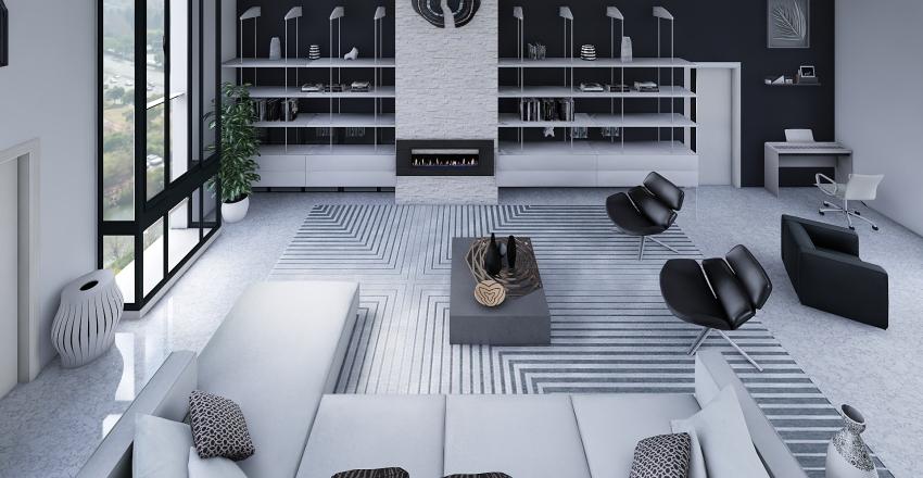 Loft de lujo Interior Design Render