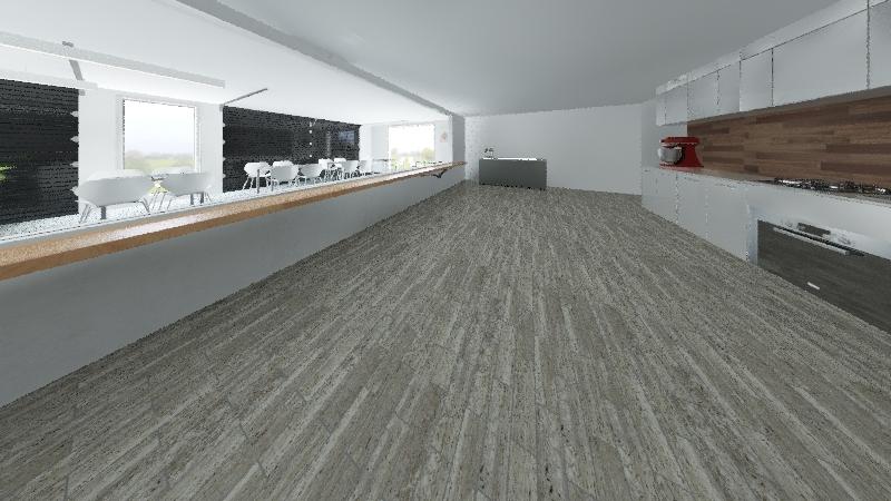Holden Restaurant Interior Design Render