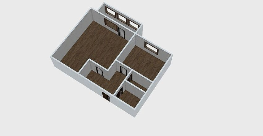 1-комн_0321 Interior Design Render