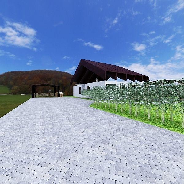 Casa de campo XII Interior Design Render