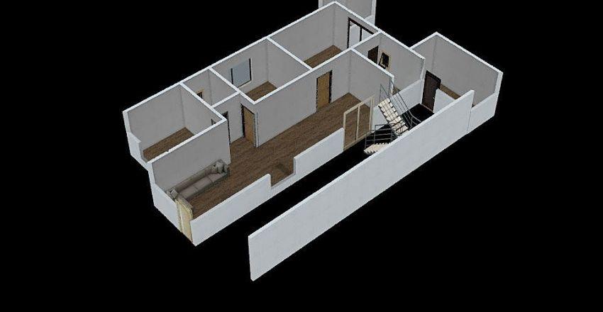 minha casa minha vida Interior Design Render