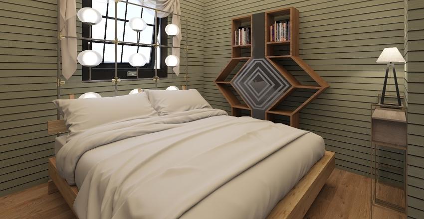 Modern Farmhouse Interior Design Render