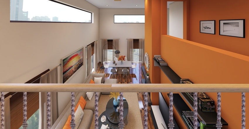 φθινοπωρο στυλ Interior Design Render