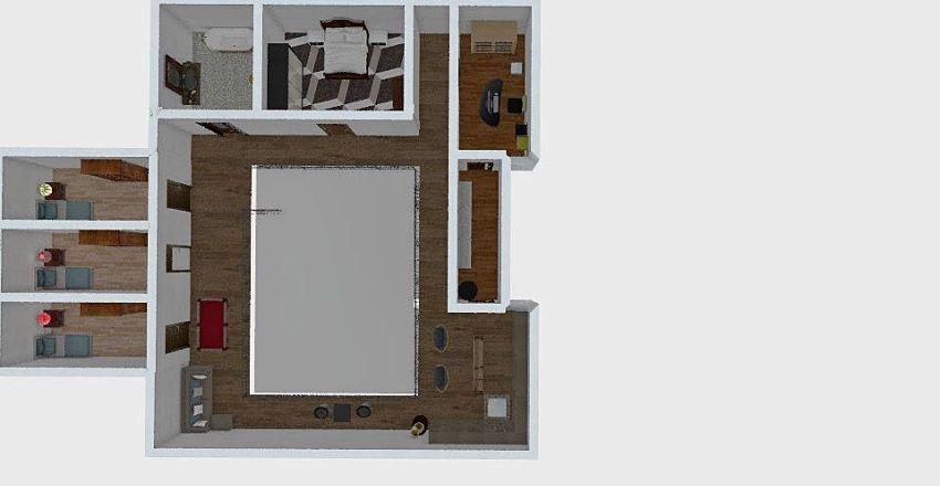 Exe board 2nd floor Interior Design Render