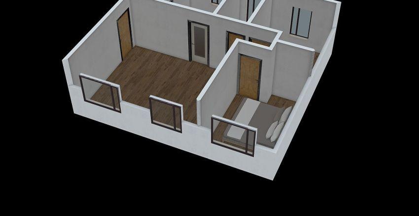 Apto Mae 3 Interior Design Render