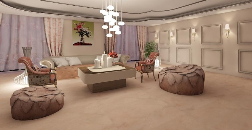 ROZA ARORA MARBLE  Interior Design Render