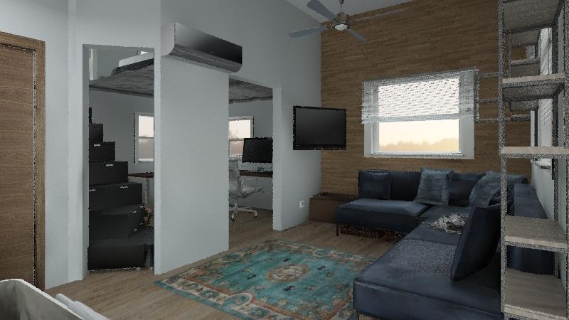Tiny House 3 Interior Design Render