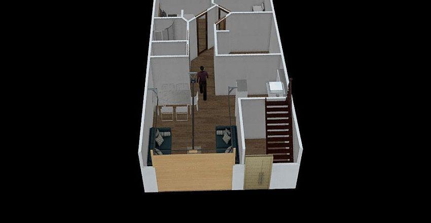 hilda 2 piso Interior Design Render