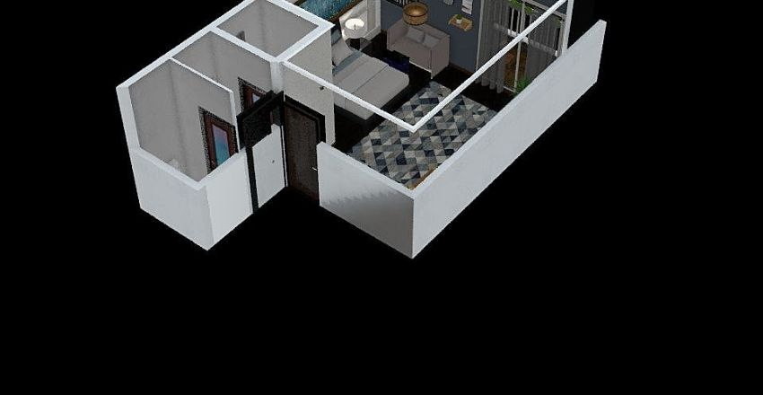 八德房 Interior Design Render