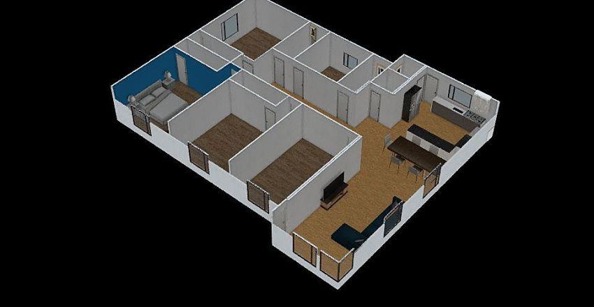 media casa qlea Interior Design Render