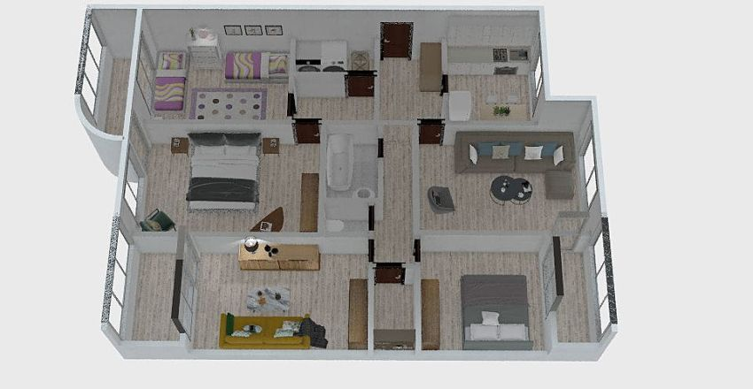 Dima Kanto g. Interior Design Render