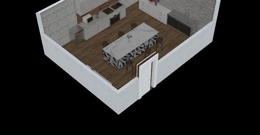 Foods Interior Design Render
