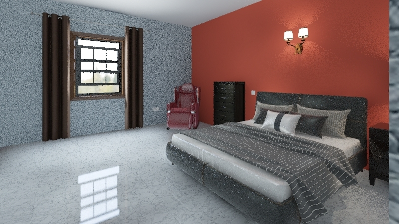 Daniel's room Interior Design Render