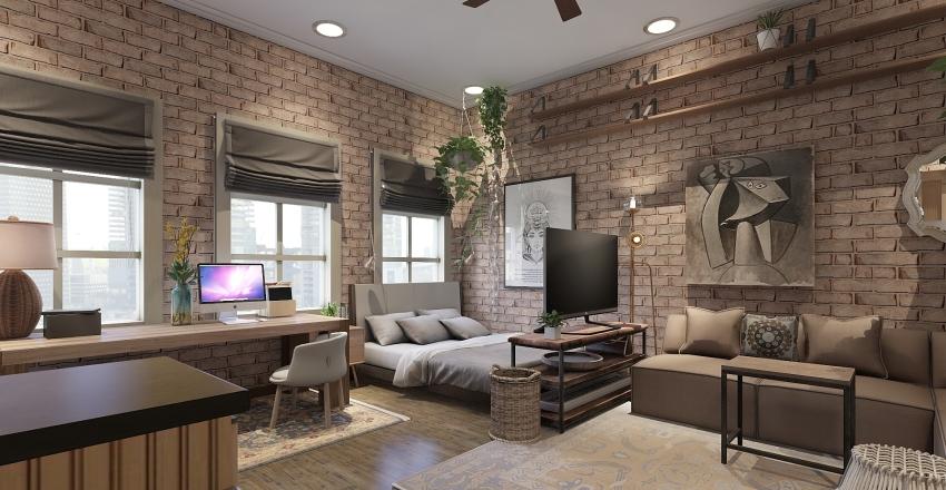 Tiny City Studio  Interior Design Render