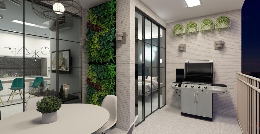 Upside Paulista Interior Design Render