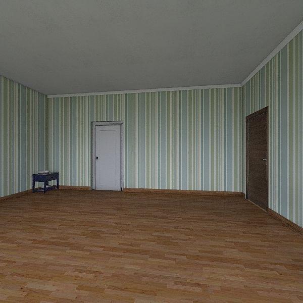 casa do poconé Interior Design Render