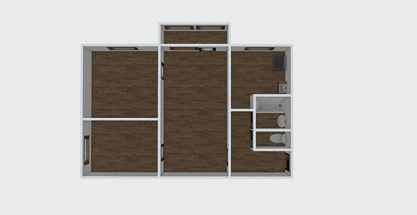 3-комн_006_3 Interior Design Render