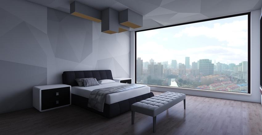 Modern Metropolis Interior Design Render