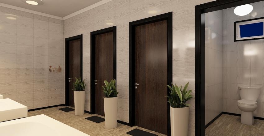 Decorative Azed Pub Commercial Public Interior Design Render