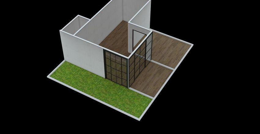 Robertong Coffee Interior Design Render