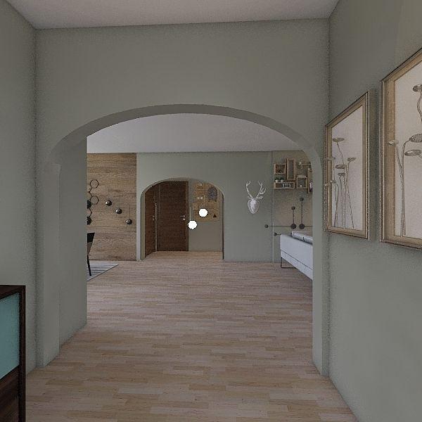 1° Casa  Interior Design Render