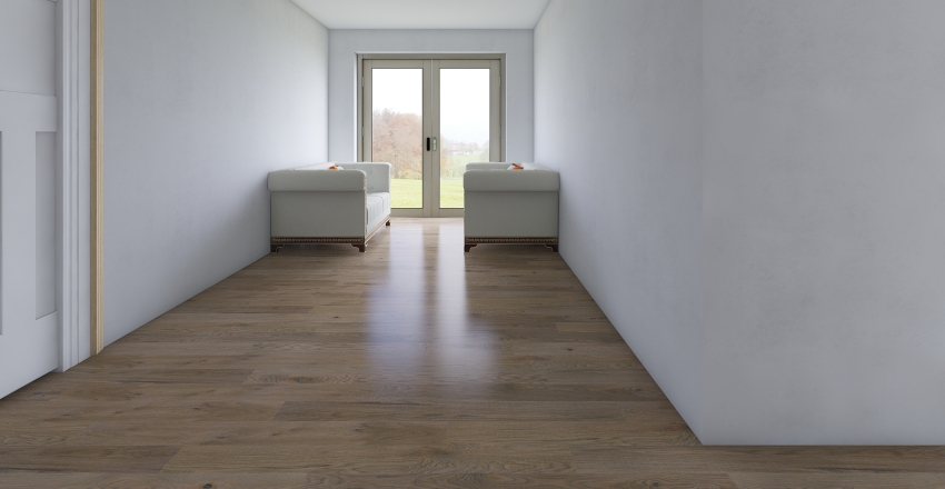 Náš domeček Interior Design Render