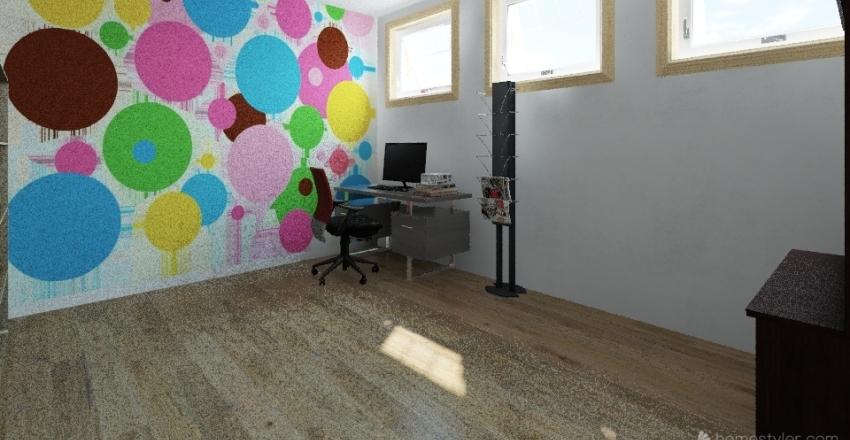 Piepmatz neu 2 Küche hinten Interior Design Render
