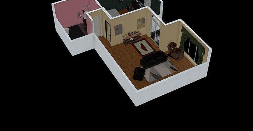 homework Interior Design Render