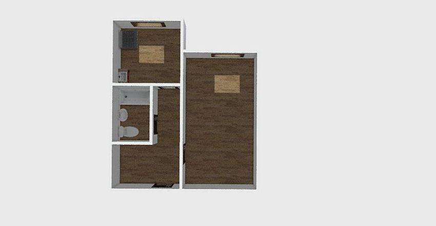 1-комн_0310 Interior Design Render