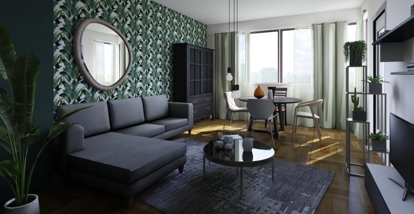 Appartement Boverie Interior Design Render