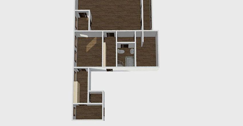 3-комн_0206 Interior Design Render