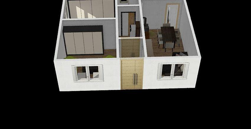 Uredjena kuca  Interior Design Render