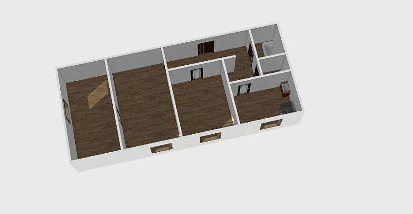 3-комн_010_1 Interior Design Render