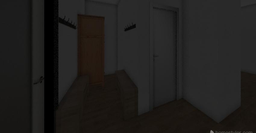 sauna do předu 90x65 Interior Design Render