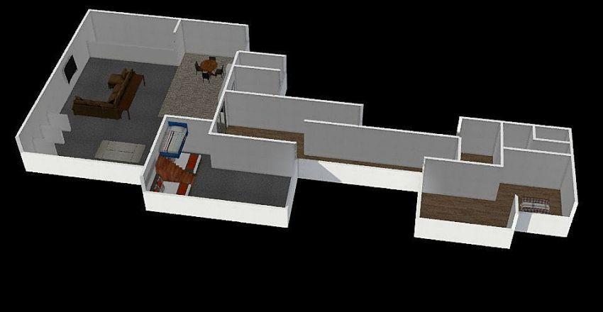 Idaho 107 Level 2 Interior Design Render