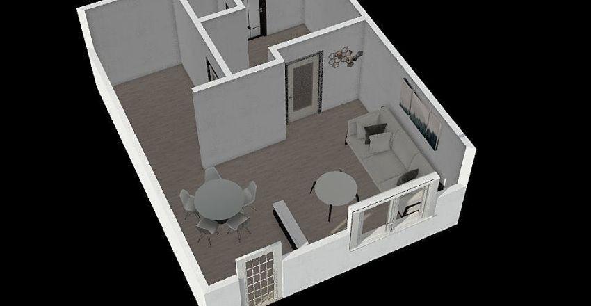 Pulheim - 80m2 Haus Interior Design Render