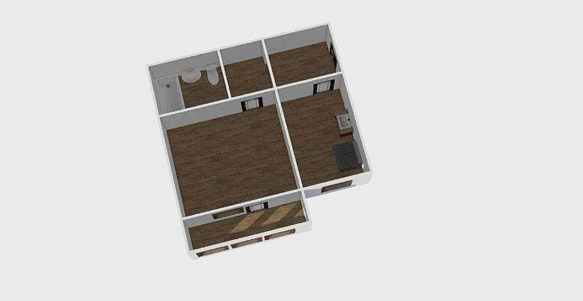 1-комн_070 Interior Design Render