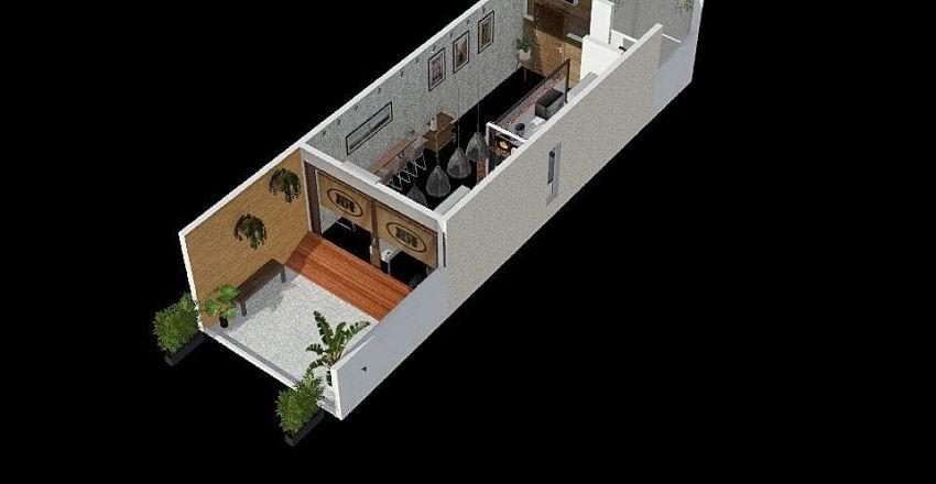 二豐家設計圖 Interior Design Render